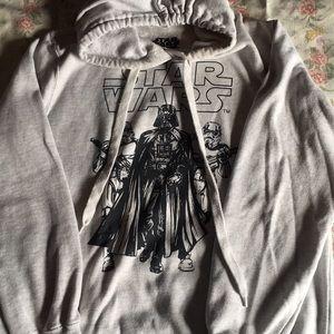 Grey Star Wars hoody. Worn once. EUC.